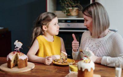 Dwujęzyczne rozmowy między dzieckiem i rodzicem